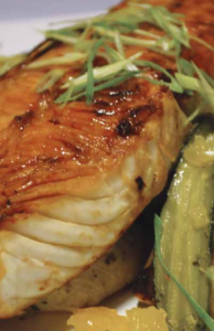 Teriyaki-Glazed-Halibut-Steak